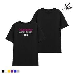 XXIX - BACK CYBORG 면 반팔 - 6color - J8X-008