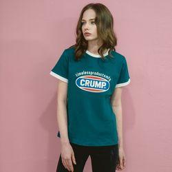Crump color logo woman tee (CT0140-2)