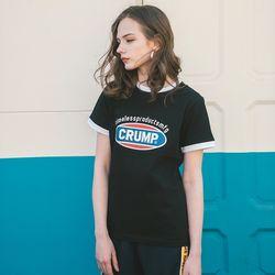 Crump color logo woman tee (CT0140)