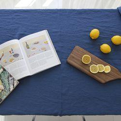 블루 문 리넨 테이블 커버 L 135cmx175cm