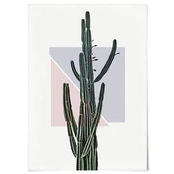 패브릭 포스터 F226 식물 그림 기하학 선인장 [중형]