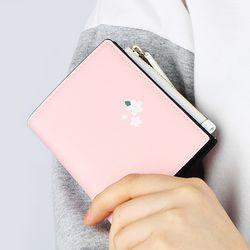 벚꽃비 - 핑크 쏙지갑 반지갑 (LSB1803ZSW036)
