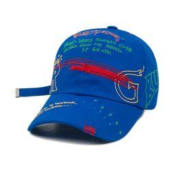REVERSE BASEBALL CAP BLUE