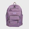 [N] Traveler backpack-light purple