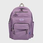 [N] Traveler backpack-light purple