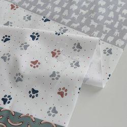 [Fabric] All about dog (강아지 코튼 라미네이팅)