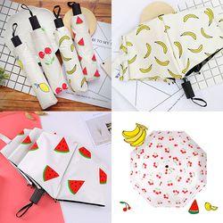 [무료배송] 과일우산 접이식우산 3단우산