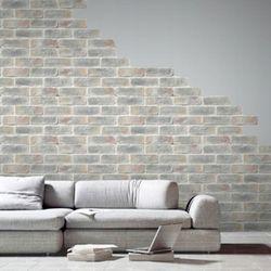 물에빠진 조각 실크 포인트 벽지 벽돌 MZ050-A