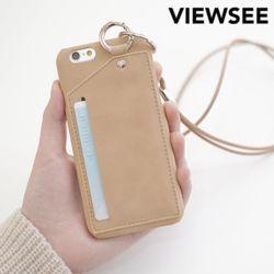 아이폰6/6s 카드목걸이 스트랩 케이스
