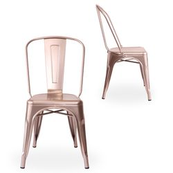 tolixgold chair (톨릭스골드 체어)-로즈골드
