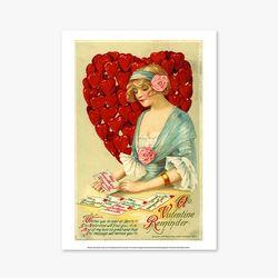 빈티지아트포스터 - A Valentine Reminder 0004