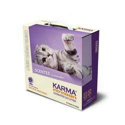 카르마 코쿤 모래 라벤더향 6.35kg  고양이모래