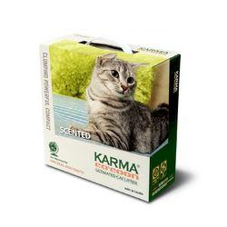 카르마 코쿤 모래 소나무향 6.35kg  고양이모래