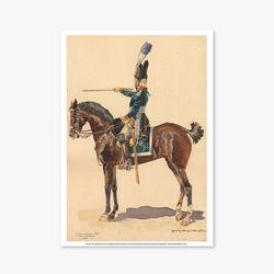 빈티지아트포스터 - Horse Soldier 0011