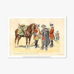 빈티지아트포스터 - Horse Soldier 0012