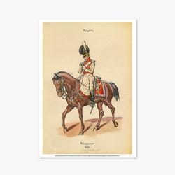 빈티지아트포스터 - Horse Soldier 0013
