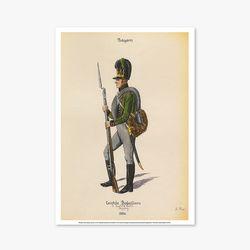 빈티지아트포스터 - Soldier Drawing Part 1 0014