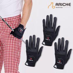 [3장묶음]버즈런 남성골프 합피왼손 한손장갑