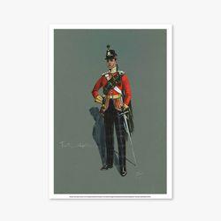 빈티지아트포스터 - Soldier Drawing Part 1 0020