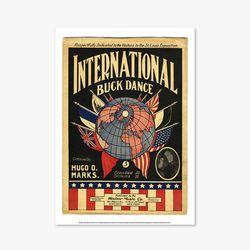 빈티지아트포스터 - International buck dance 0022