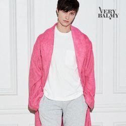 VERYBALMY 밤부 샤워가운 Hot Pink