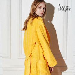 VERYBALMY 밤부 샤워가운 Lemon Yellow