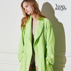 VERYBALMY 밤부 샤워가운 Lime Green