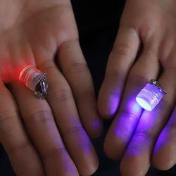 LED 원형 발광 귀걸이 (칼라)