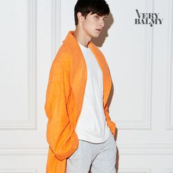 VERYBALMY 밤부 샤워가운 Shine Orange