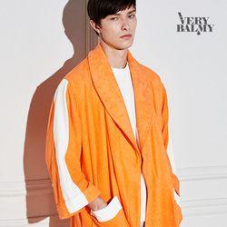 VERYBALMY 밤부 라인 샤워가운 Shine Orange