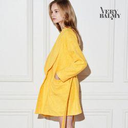 VERYBALMY 밤부 미니 샤워가운 Lemon Yellow
