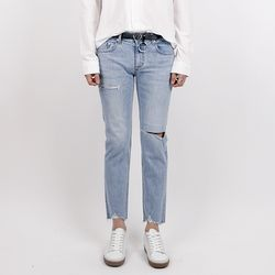 Front tail demaged jeans (1818)