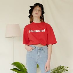 PERSONAL T (RED)