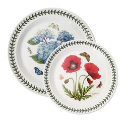 보타닉가든 접시(중)+접시(대) 2p