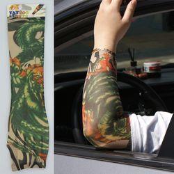 보복운전방지 운전토시 패션 타투토시 (3종) 중 선택