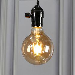 LED에디슨전구 G95 골든글라스 4W 노란빛 2200K