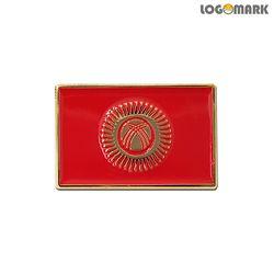 키르키즈스탄 국기 뺏지