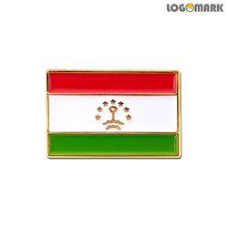 타지키스탄 국기 뺏지