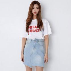 [로코식스] 플라워잉 티셔츠