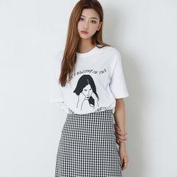 [로코식스] 소녀 앤 티셔츠