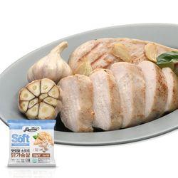 소프트 닭가슴살 마늘맛 100g x 10팩 (1kg)