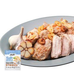 소프트 닭가슴살 마늘맛 100g x 100팩 (10kg)