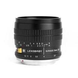 LENSBABY BURNSIDE 35 번사이드35 BLACK (Micro 43)