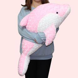 이젠돌스 돌고래 인형 스네일돌핀 핑크 대 85CM