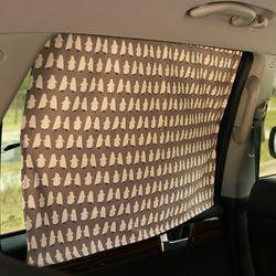 자석형 차량용 햇빛가리개-펭귄(암막아님)