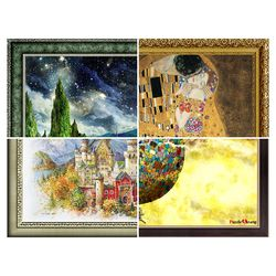 퍼즐사랑 퍼즐액자 모음전(3) 50x75 (cm)