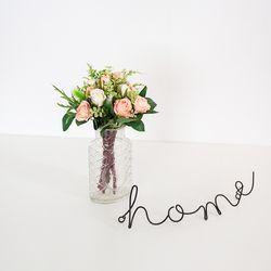 로지 장미 미니 조화 꽃다발