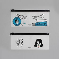 CLEAR POUCH POCKET VER.5 2종