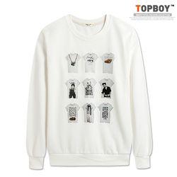 옷걸이 맨투맨 (TR500)