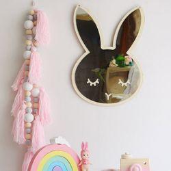 토끼 아크릴 안전거울 어린이방 거울동물모양 거울